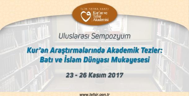 Kur'an Araştırmalarında Akademik Tezler